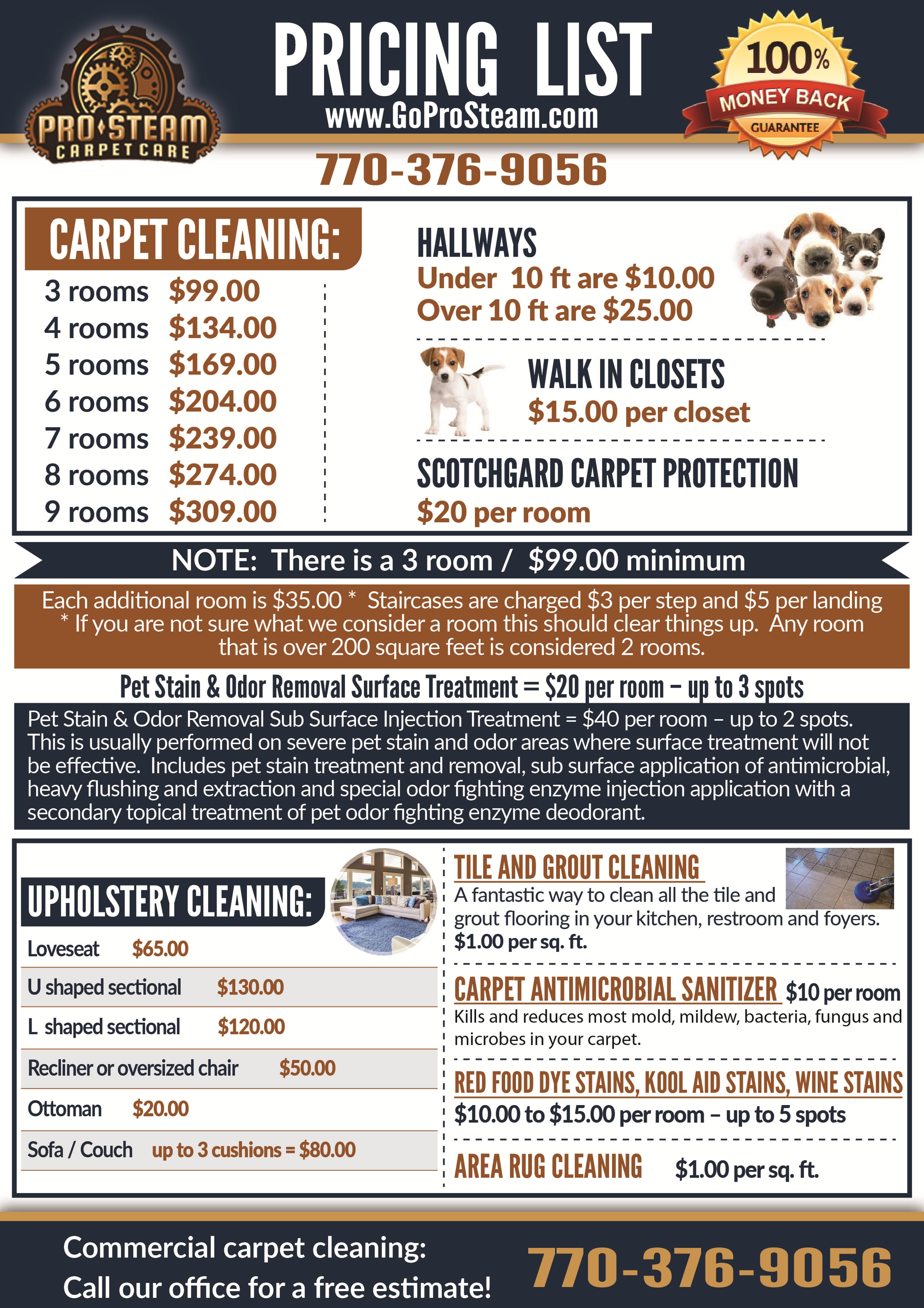 Carpet Cleaning Lagrange Ga Pricing